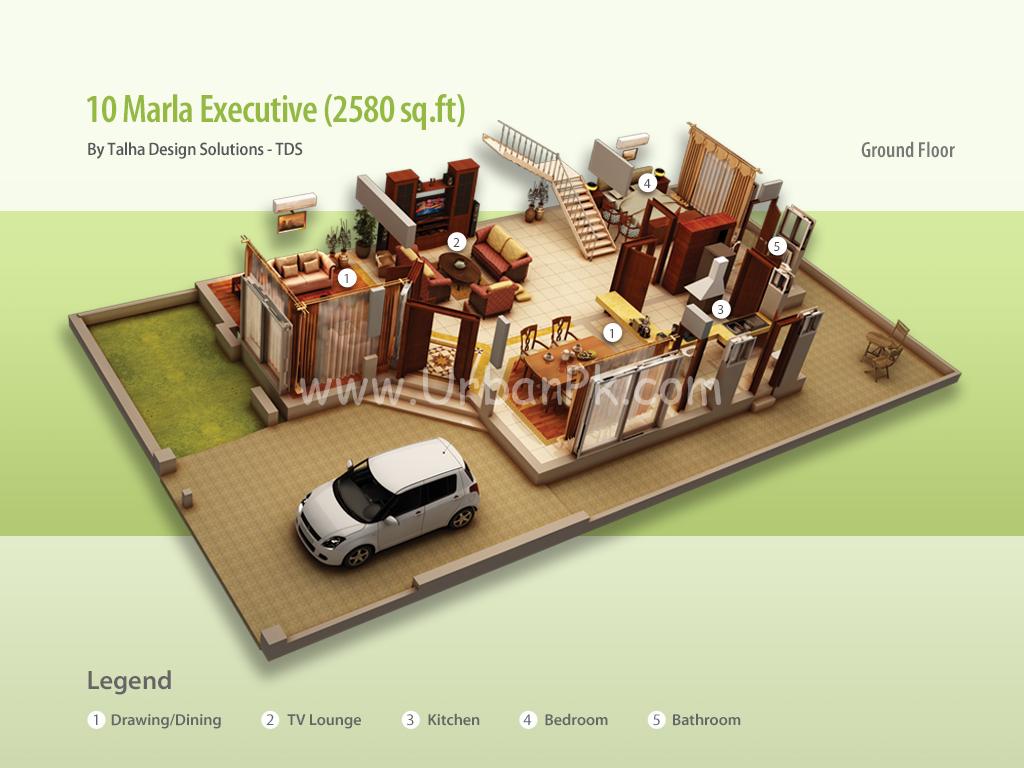 ... 10 marla executive render 10 marla executive a model plan 10 marla